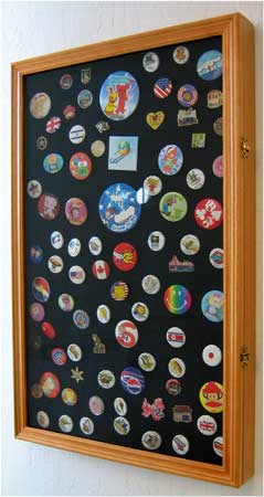 Badge, Pin or Medal Display Case, Large